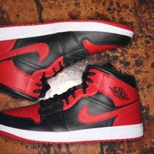 Jordan 1 Mid Banned Mid Size 13 for Sale in Jupiter, FL