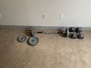 Iron weights for Sale in Littleton, CO
