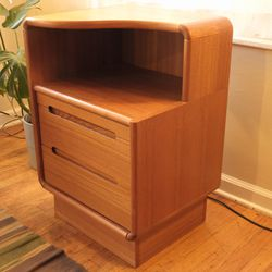 Vintage Danish Teak Nightstand for Sale in Milwaukie,  OR