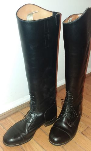 E. Vogel Custom riding boots womens size 7.5 for Sale in Columbia, MD