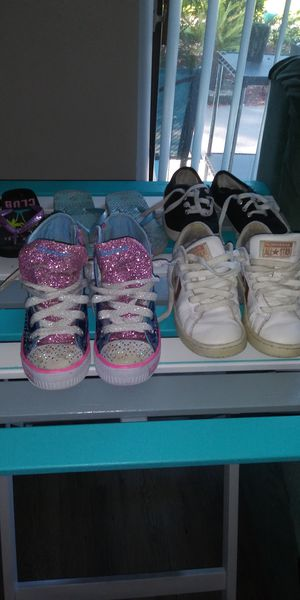 Girls shoes, boots, flip flops for Sale in Largo, FL