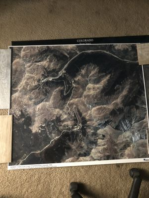 Space imaging Satellite Photo Loveland Pass for Sale in Englewood, CO