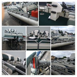 2002 Gillgetter pontoon for Sale in Shawano, WI