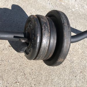 Weight With Curling Bar 26 Pound for Sale in Fremont, CA