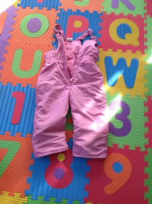 Toddler girl's snow pants for Sale in Sudbury, MA