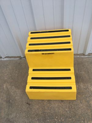 Polyethylene Step Stool - 2 Steps for Sale in North Little Rock, AR