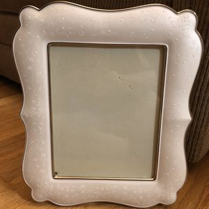 """Lenox Wedding Promises Opal Innocence 8x10"""" Picture Frame for Sale in Paterson, NJ"""