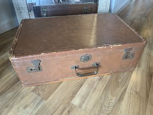 Vintage Leather Luggage for Sale in Portland, OR