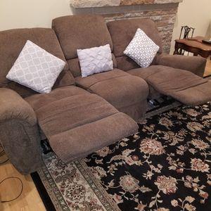 Three Seats Reclining Sofa for Sale in Seattle, WA