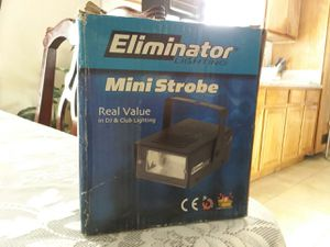 4 MINI STROBE FOR SALE / ELIMIMATOR for Sale in Baldwin Park, CA