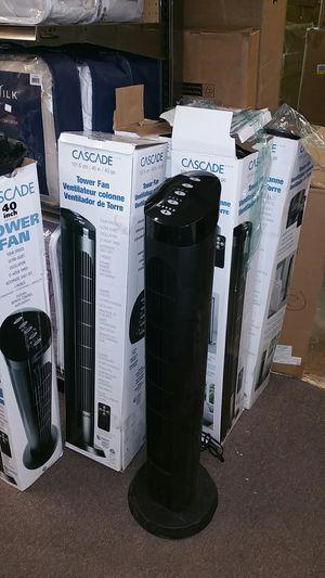 40in tower oscillating fan w rem 15ea for Sale in Bakersfield, CA