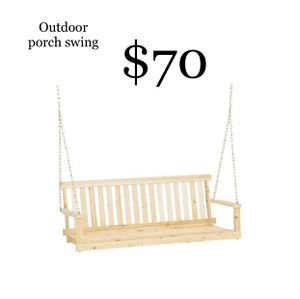 Brand New Outdoor porch swing for Sale in Dallas, TX