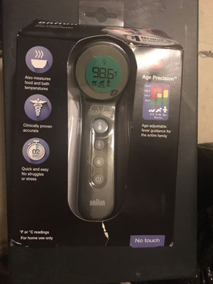Braun no touch thermometer for Sale in Greenbelt, MD