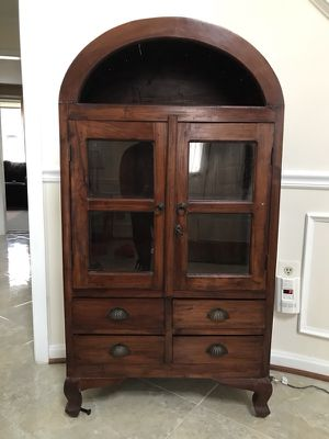Antique Wooden Hutch for Sale in Silver Spring, MD