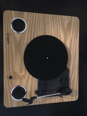 ION Max LP Conversion Turntable with Stereo Speakers for Sale in Harrisonburg, VA