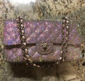 Authentic Chanel Swarovski Bag for Sale in The Bronx, NY