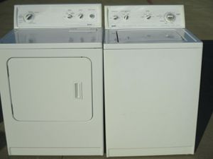 Kenmore washer and kenmore dryer heavy duty super load capacity for Sale in Fort Worth, TX