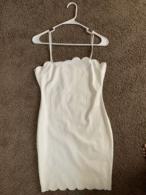 All white fitted dress for Sale in Columbus, OH
