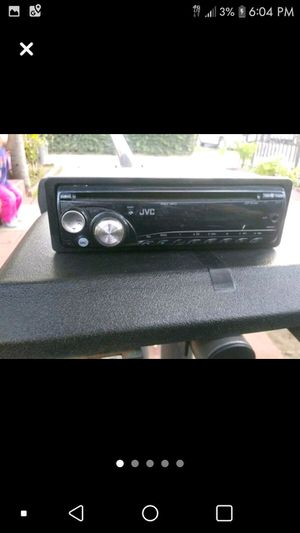 Jvc stereo for Sale in Long Beach, CA