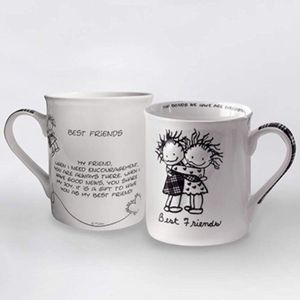 Enesco Children of the Inner Light Best Friends Mug, 10.8cm for Sale in French Creek, WV