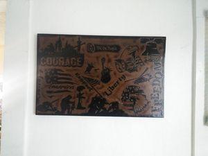 American patriotic plaque for Sale in Wenatchee, WA