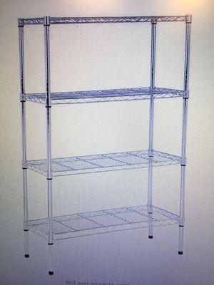 amazonBasics 4-shelf Shelving Unit for Sale in Falls Church, VA