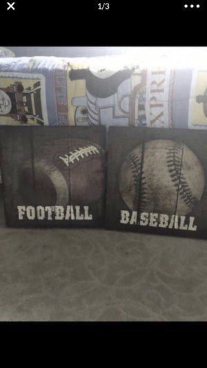 Sports wall decorations for Sale in Garden Grove, CA