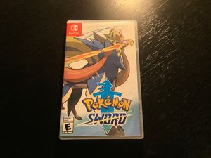 Pokémon Sword for Nintendo Switch Great Condition for Sale in Commercial Point, OH