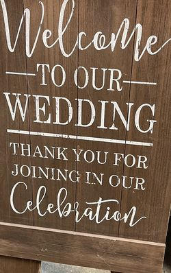 Rustic Wedding Sign for Sale in Fontana,  CA