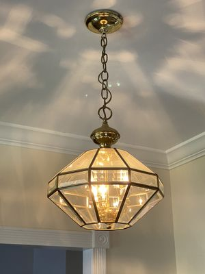 Brass light fixture for Sale in St. Louis, MO