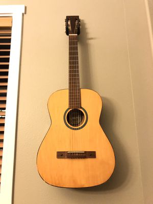 GUITAR WITH CASE for Sale in Tacoma, WA
