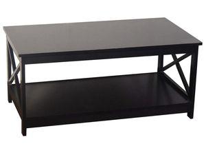 Espresso Finish X-Design Wooden Coffee Table for Sale in Seattle, WA