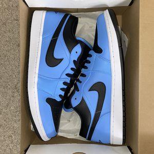 "Jordan 1 Low ""University Blue Black"" for Sale in Arlington, VA"