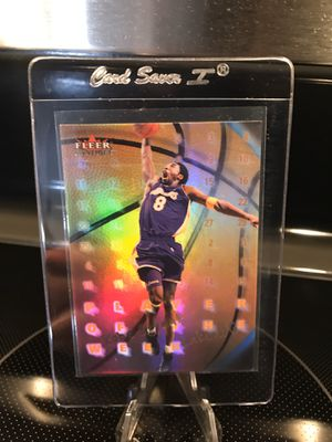 2000 Fleer Kobe Bryant Basketball Card - Lakers Jersey 8 Black Mamba Collectible - Ready for PSA Beckett 9 /10 MINT GEM - $29 OBO for Sale in Carlsbad, CA