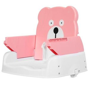 Adjustable Height Portable Folding Booster Toddler Chair Tray-Pink BB4924PI for Sale in Santa Ana, CA