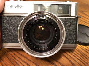 Minolta HI-MATIC 7 35mm Film Camera ROKK for Sale in Asheboro, NC