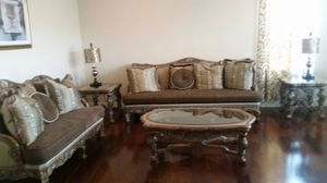 Living room sofas and table set for Sale in Livermore, CA