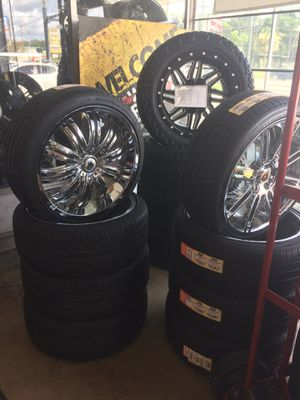 Rims and tires for Sale in Lakeland, FL