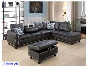 BRAND NEW SECTIONAL COUCH WITH CUP HOLDER for Sale in Ontario, CA