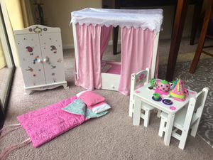 Doll Furniture Journey Girls, American Girl for Sale in Gig Harbor, WA