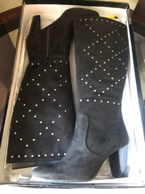 a.n.a Suede Studded Boots for Sale in Mount Pleasant, WI