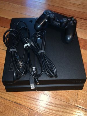 PlayStation 4 with 5 games for Sale in Saginaw, MI