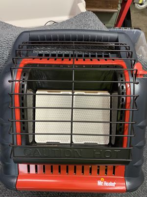 Me Heater Big Buddy MH-18B, Dual Bottle Portable Heater with Built-in Blower. Never Used for Sale in Brier, WA