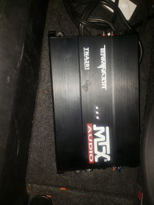 Car amplifier terminater max 250 watts for Sale in Raleigh, NC