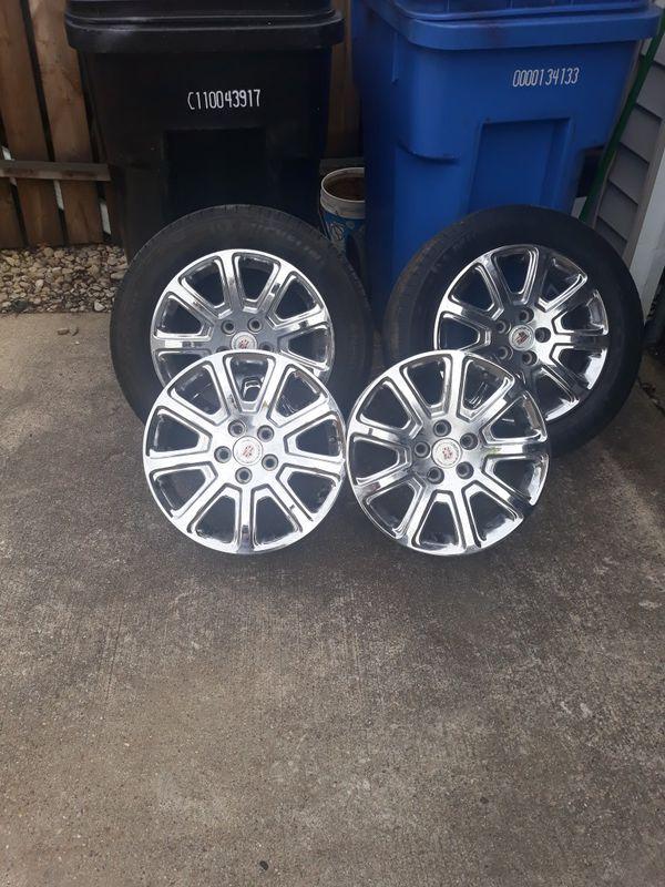 2011 DTS cadillac wheels