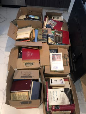 Books Lot 7 Boxes for Sale in Miami Beach, FL