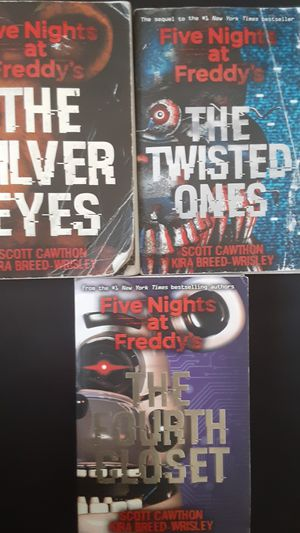 Five Nights at Freddy's book series for Sale in Sunnyvale, CA