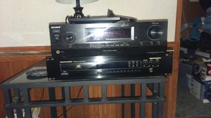 Fairly new Sony tuner and a marantz CD player for Sale in Greencastle, PA