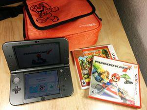 Nintendo 3DS XL, 2 Games and a Mario Bag for Sale in Tempe, AZ