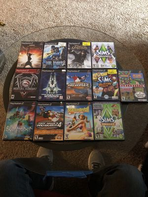 PS2 games lot for Sale in Everett, WA